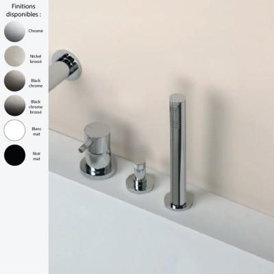 Robinet Baignoire Sans Bec 3 Trous Design Diametro 35 Ritmonio Laiton