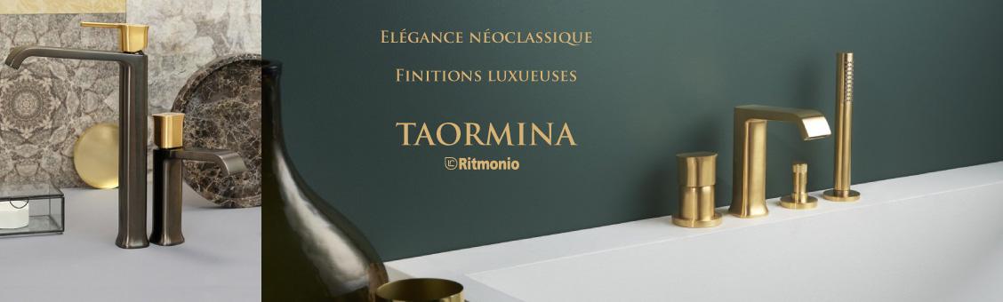 Robinetterie design néo-classique : TAORMINA de Ritmonio